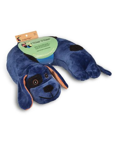 This Blue Dog Critter Piller Neck Pillow by Wolf Manufacturing Company is perfect! #zulilyfinds