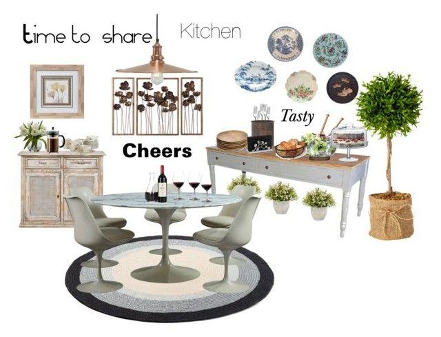 """Time to share"" by marianaleonluzardo on Polyvore featuring interior, interiors, interior design, home, home decor, interior decorating, Nearly Natural, Sagaform, LSA International and NKUKU"