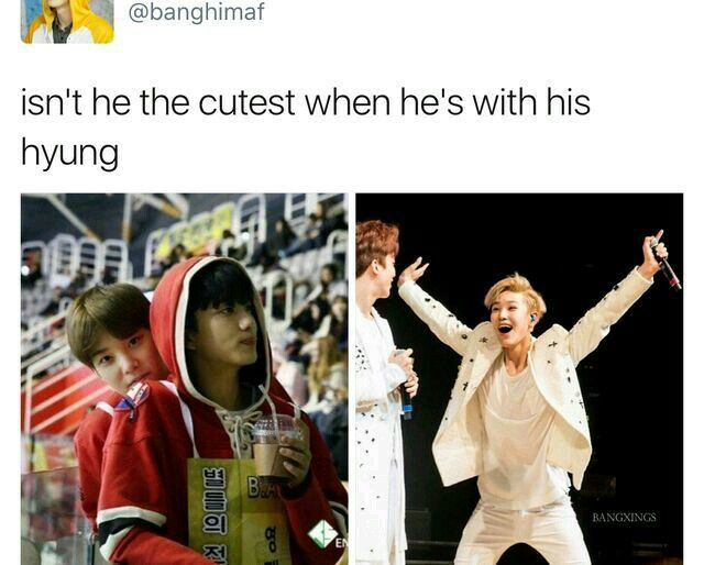 He Is He Became Childlike Whenever He S With His Hyung It S Veryyyy Adorable I Wanted To Pinch That Cheek Kpopper K Idols B A P