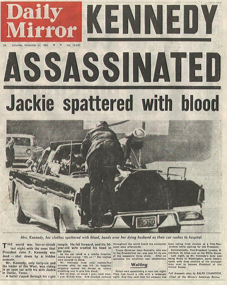 John F. Kennedy Assassinated 1963 | Camelot - John ...