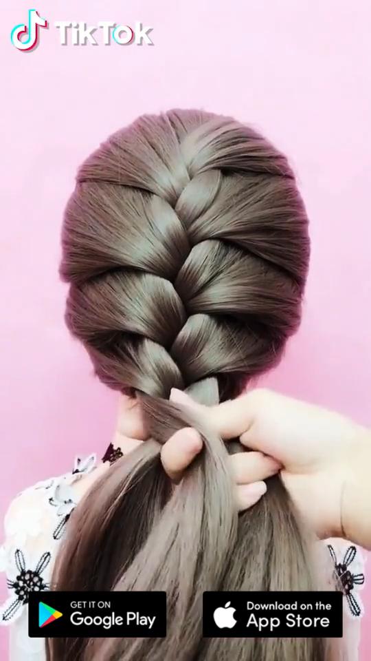 Tiktok Cool Videos For You Cool Penteadofceis Tiktok In 2020 Haarfrisuren Langhaarfrisuren Geflochtene Frisuren