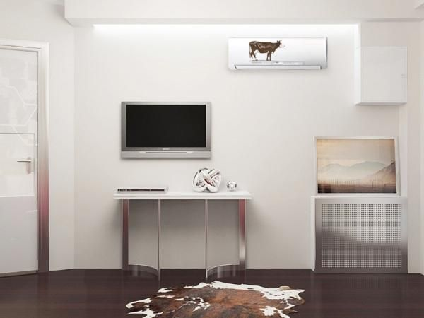 Designer Tips To Integrate Heat Pump And Air Conditioner Units With Existing Interior Design And Decor Air Conditioner Units Bedroom Air Conditioner Air Conditioner Hide