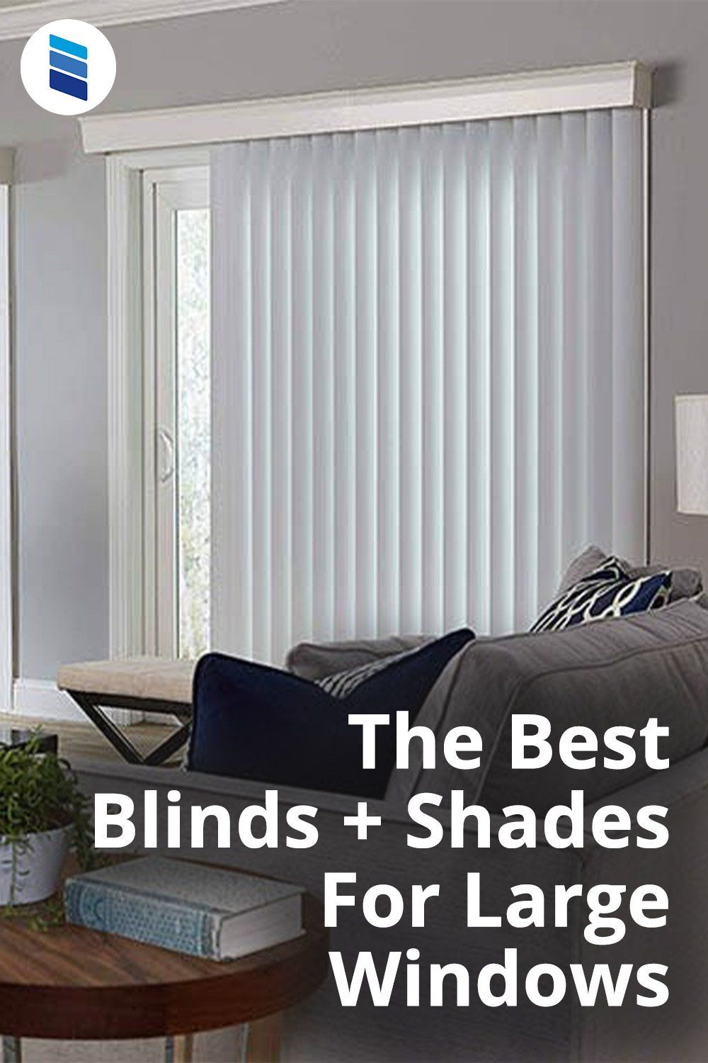 The Best Window Treatments For Large Windows Blinds Com In 2021 Large Window Coverings Large Windows Large Window Treatments