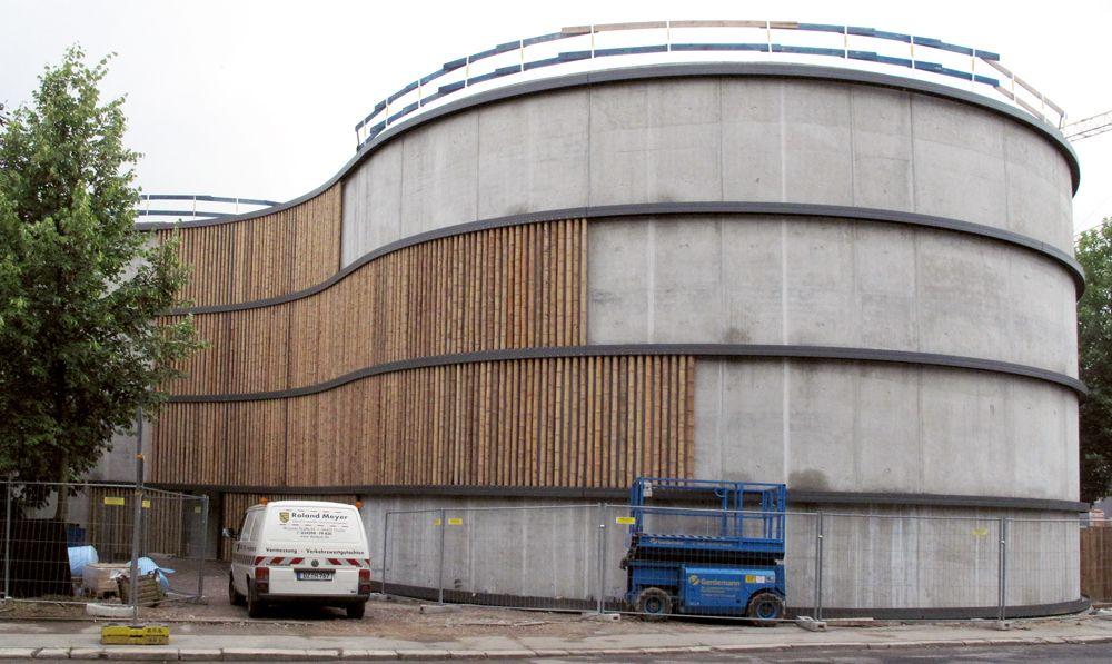 Architekten In Leipzig haptische hülle parkhaus hpp architekten in leipzig leipzig