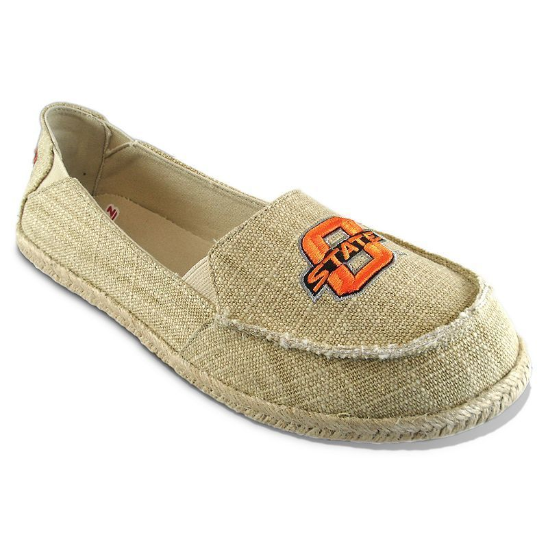 Women's Campus Cruzerz Oklahoma State Cowboys Sparkle Cabo Slip-On Shoes, Size: