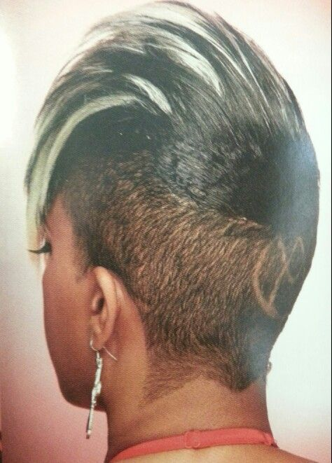 Skunk Mohawk Hair Styles Relaxed Hair New Hair Look