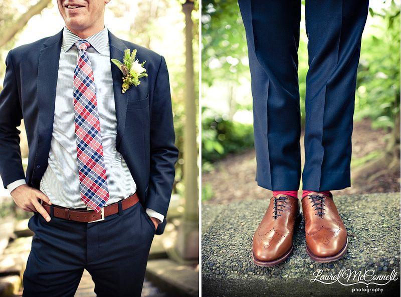 Romantic + Modern Style: Erika + Zach | Groom style, Men\'s suits ...