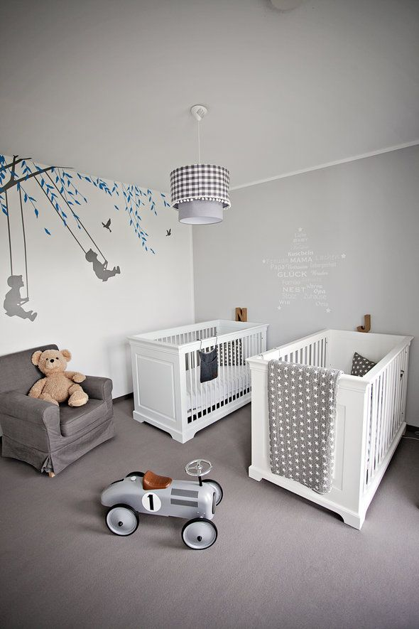 die besten ideen f r die wandgestaltung im kinderzimmer babybetten pinterest. Black Bedroom Furniture Sets. Home Design Ideas