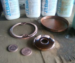 Bright Copper Plating Without Electricity With Images Bright Copper Copper Crafts Plating