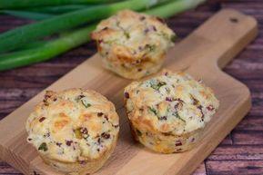 Herzhafte Lauch-Speck-Muffins Rezept #finecooking