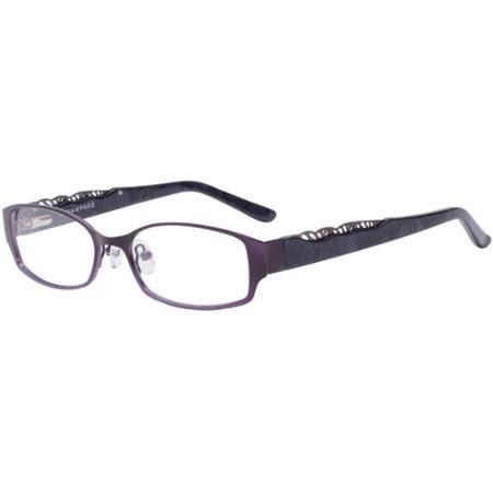 Rampage Women\'s Eyeglass Frames, Plum