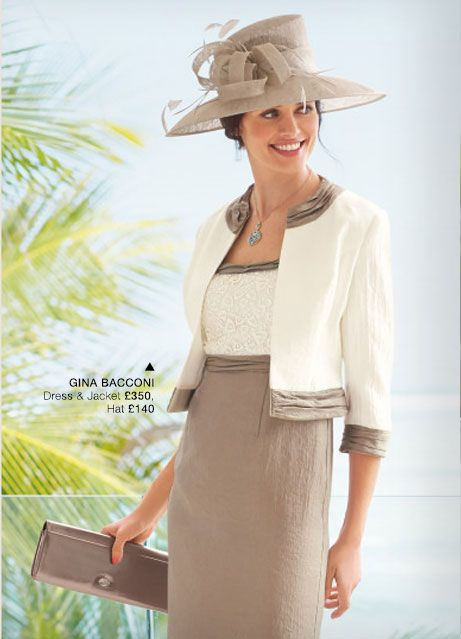 Gina Bacconi Mother of the Bride and Smart casual Wear | La Bella ...