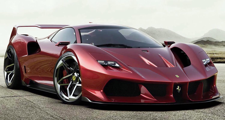 فيراري تجهز سيارة جديدة خاصة مستوحاة من طراز أف 40 الأيقوني لعام 2021 موقع ويلز In 2020 Ferrari F40 Concept Cars New Ferrari