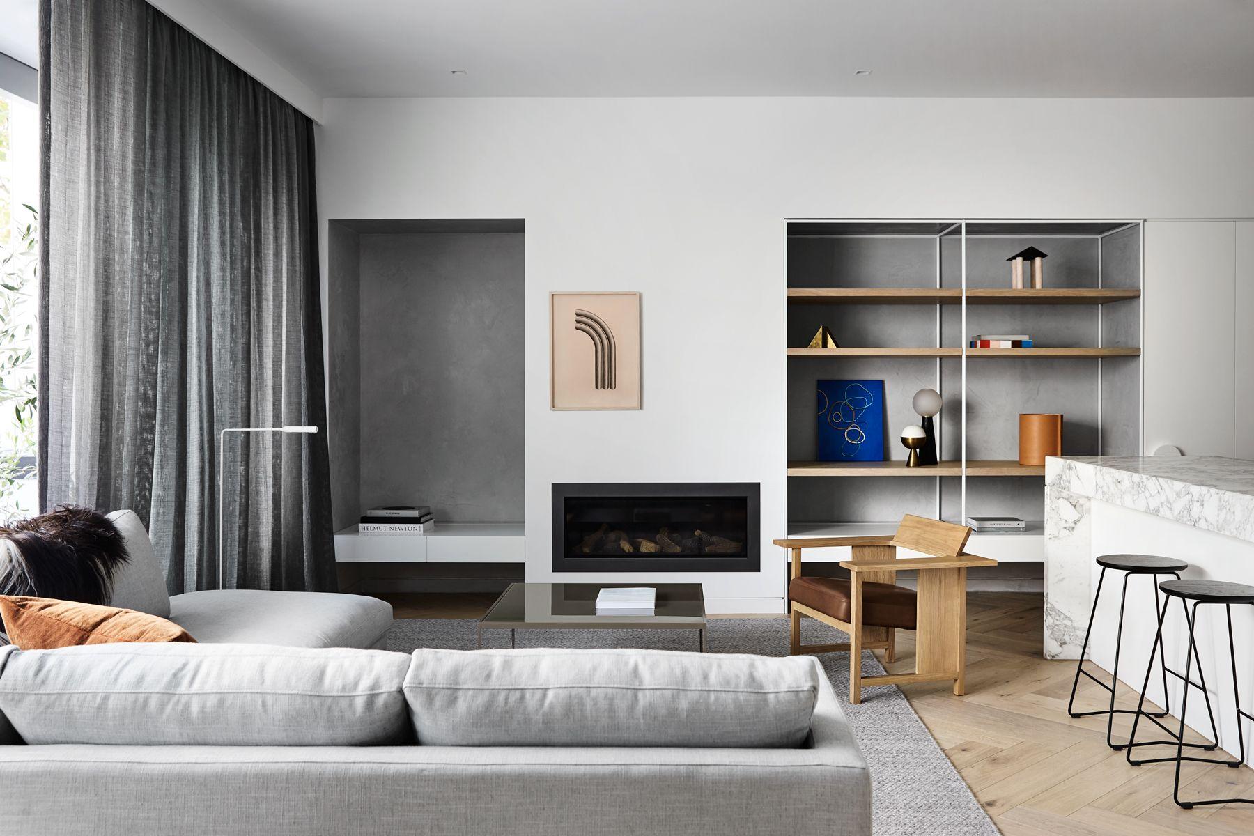 South Yarra Residence Is A Minimalist Interior Design Project Located In Melbourne Australia Minimalist Home Decor Eclectic Bedroom Minimalist Interior Design