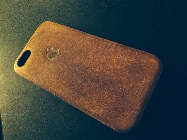 the latest ea929 bff77 Apple iPhone 5S Leather Case - Love the worn look | Interesting ...