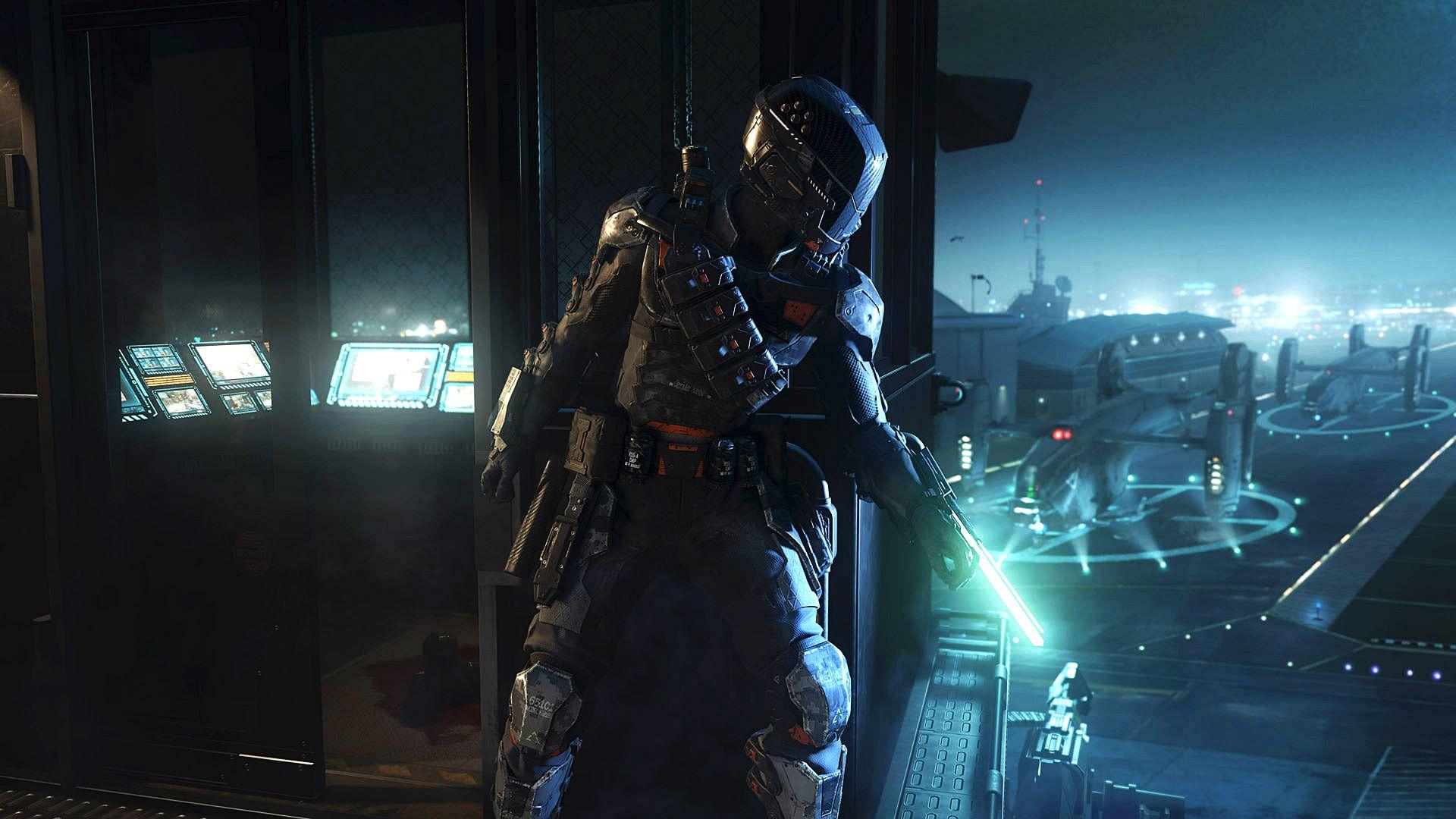 Cod Black Ops 3 Specialist Spectre Gambar Wallpaper Ponsel