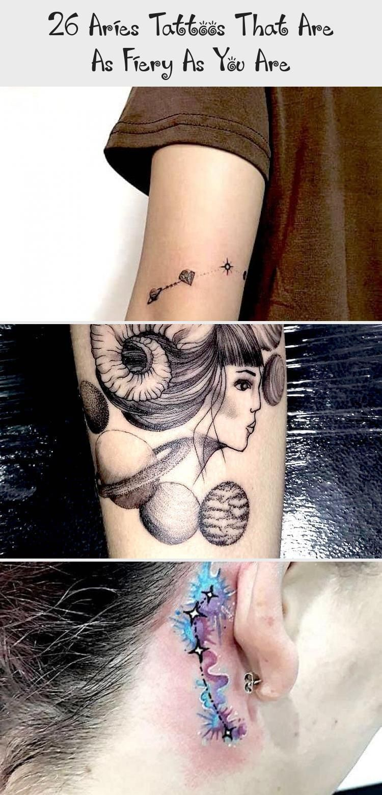 26 Aries Tattoos That Are As Fiery As You Are Tattoos,