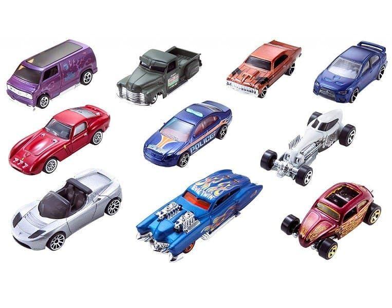 Bon plan -22% : Le Coffret 10 véhicules Hot Wheels au 1/62ème à 15.59 €  www.voituresminiatures.fr  #scale162 #smallcar #hotwheels #blackfriday #promo #voituresminiatures #miniatures #mofelscale