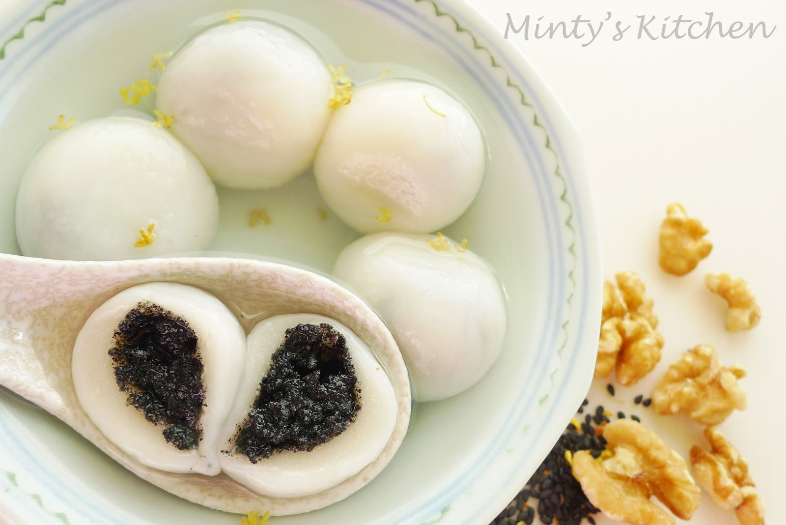 Glutinous rice balls! The recipe looks so simple. | To Eat ...