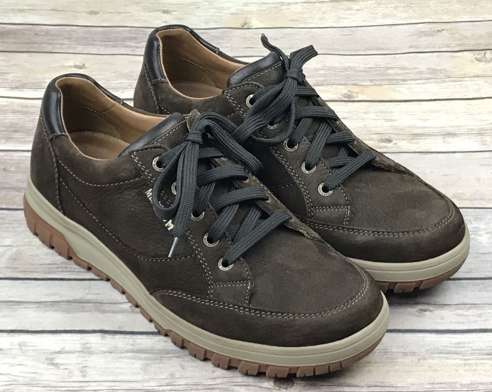eb050046bfb Mephisto Slacker Air Relax Brown Leather Lace Up Oxford Comfort Shoes Mens  8.5
