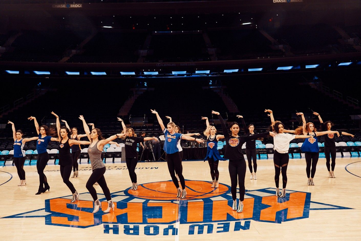 What It's Like to Be On the NBA's Most Iconic Dance Team