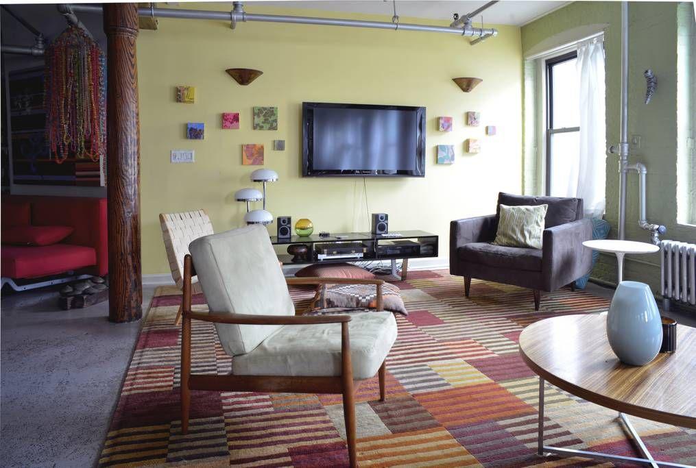Beautiful artist loft lofts for rent in brooklyn new