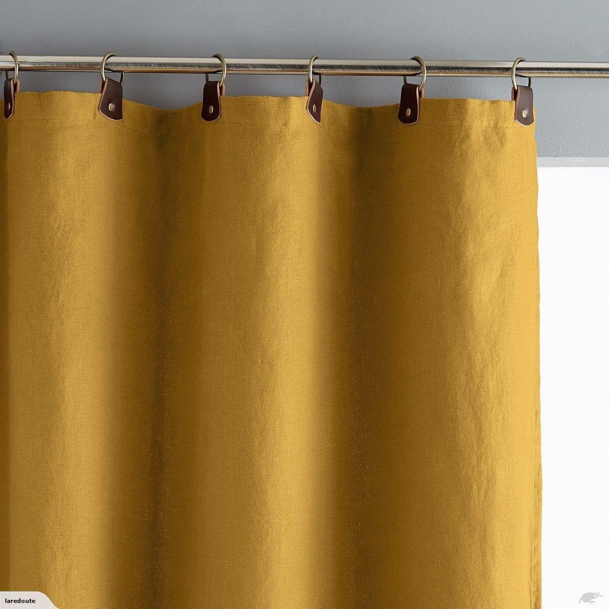 La Redoute Curtain Yellow Size 140 X 180 Cm