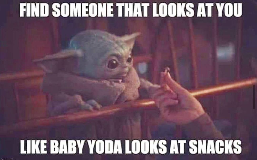 Babyyoda Babyyodamemes Yoda Starwars Mandalorian Frypansrsave Babyyoda Babyyodamemes Yoda Starwars Ma Yoda Funny Yoda Meme Funny Star Wars Memes