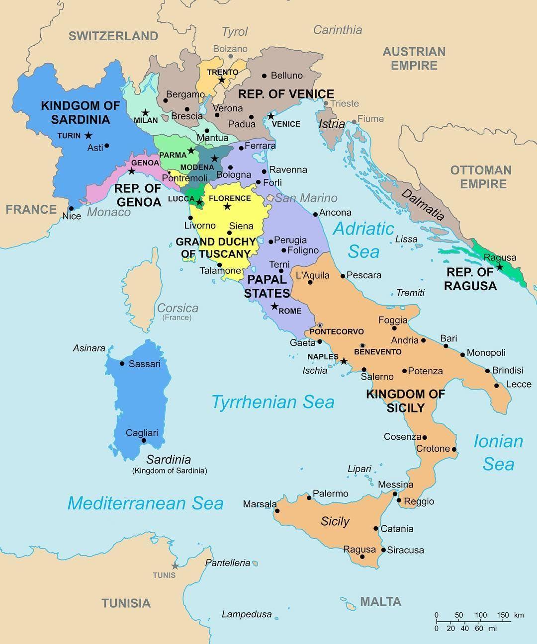 Italy In 1796 Wik Gamle Kort Kort Og Oer