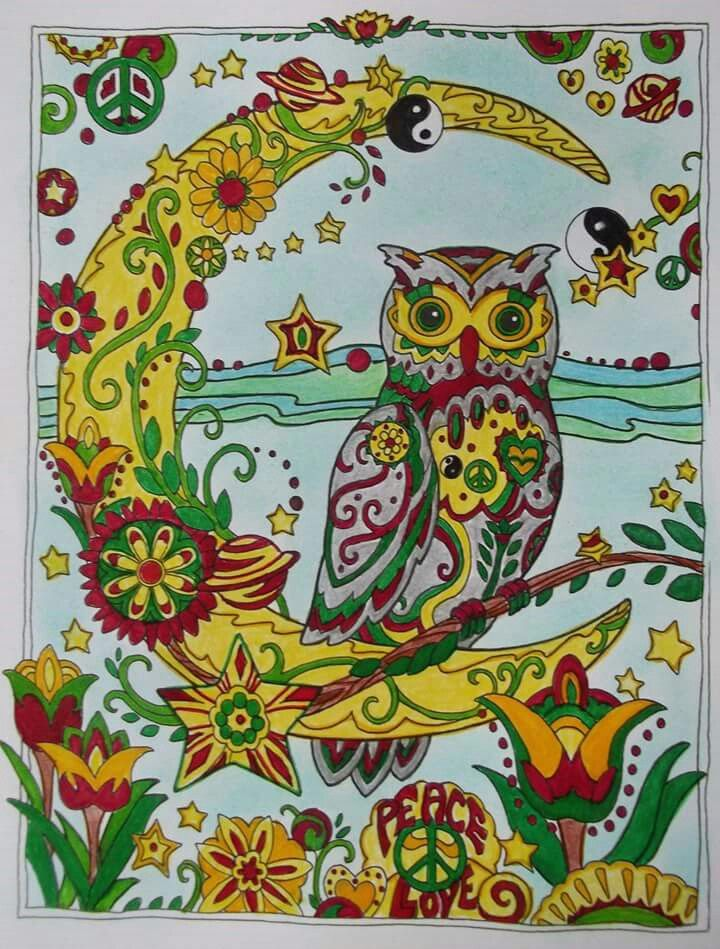 pinpatricia krzeminicki on art thérapie  coloriage