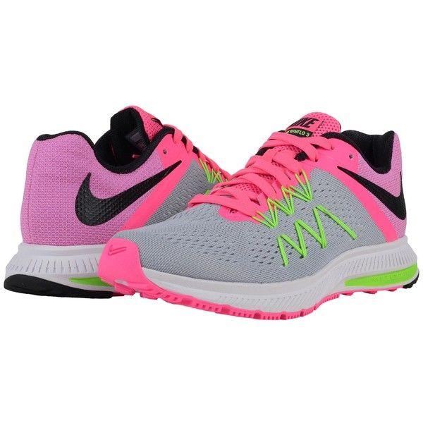 new concept c98e4 4639e Nike Zoom Winflo 3 (Wolf Grey Pink Blast Electric Green Black)