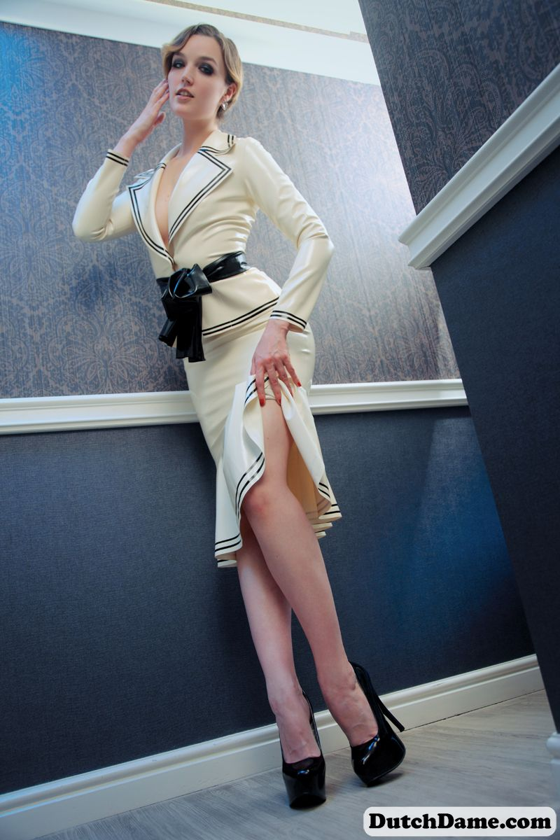 Latex wedding dress  Pin by Max Mustermann on Latex  Wedding  Pinterest  Latex Latex