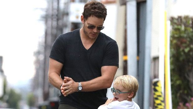 Chris Pratt Son Jack 6 Play Rock Paper Scissors As They Get