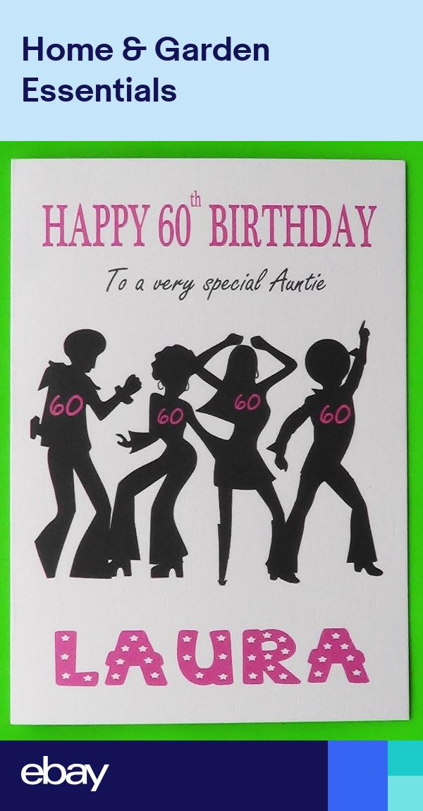 Handmade Personalised Cherry Blossom Birthday Card Mum Nan Sister Daughter