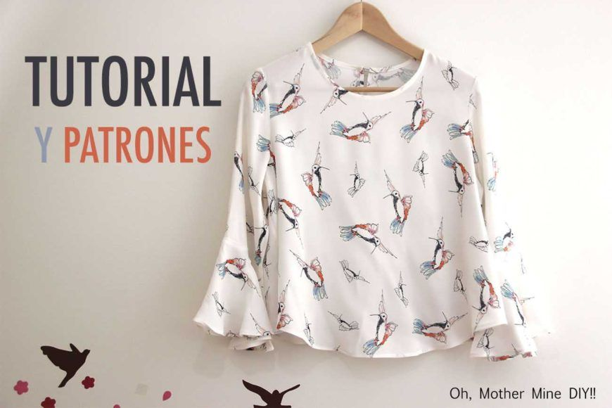 DIY Costura: Blusa de mujer (patrones gratis) FREE PDF DOWNLOAD + ...