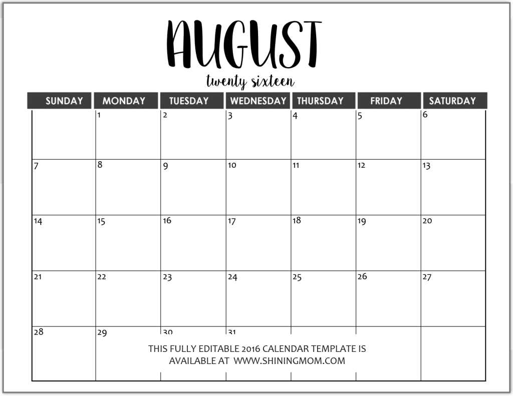 microsoft word templates calendar