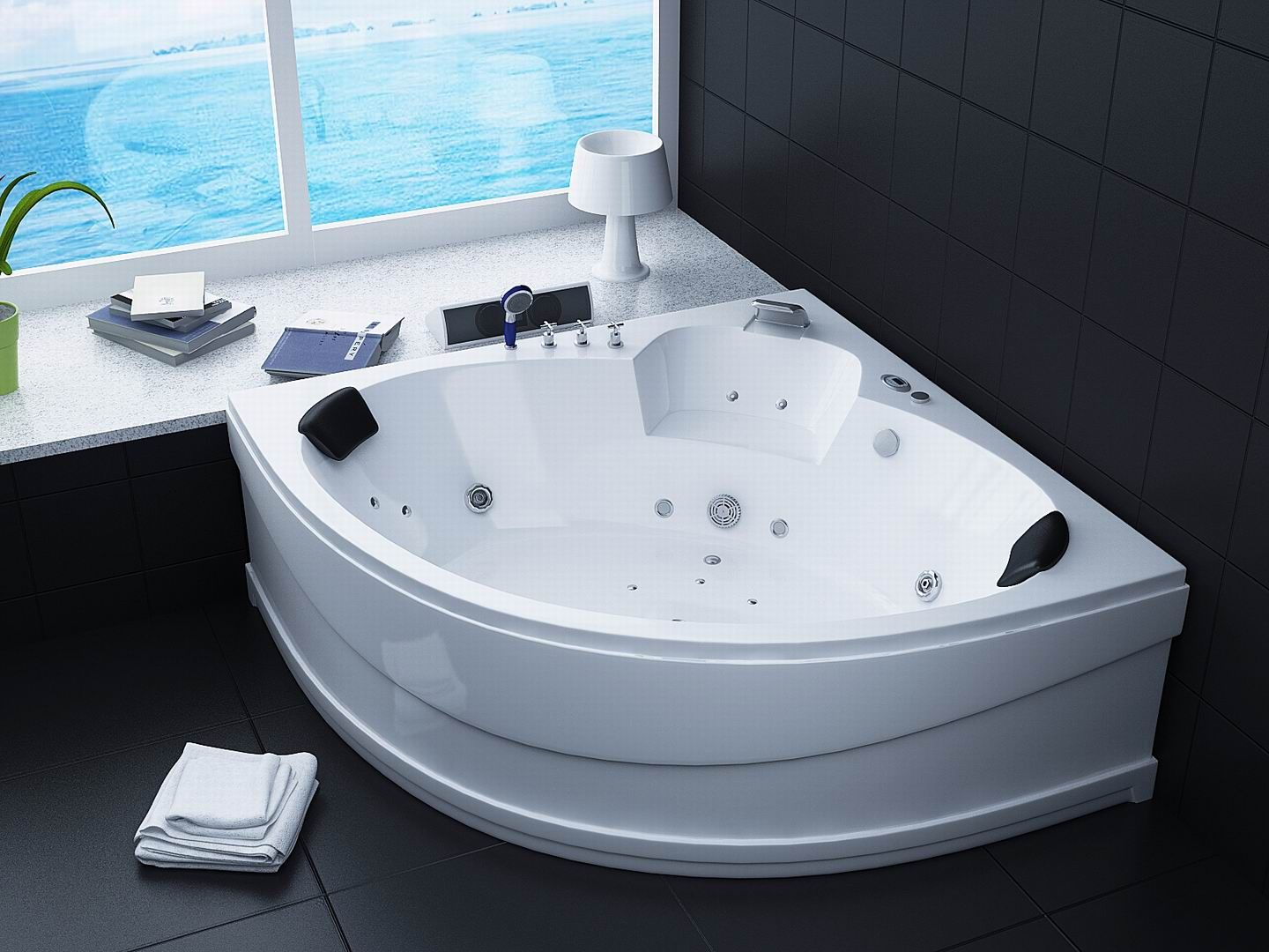 Bathroom Jet Tubs jacuzzi bathtub. whirlpool bathtub hydromassage soaking bathtub sb