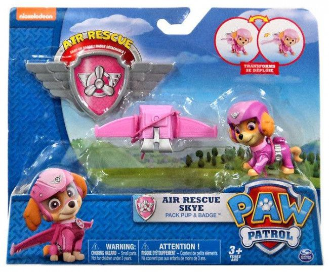 Pat patrouille stella figurine badge paw patrol - Jeux de nick junior ...