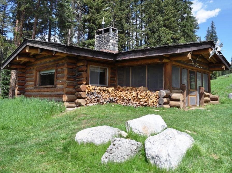 Cabins at Big Sky, Montana Cabin, Large log cabins, Log
