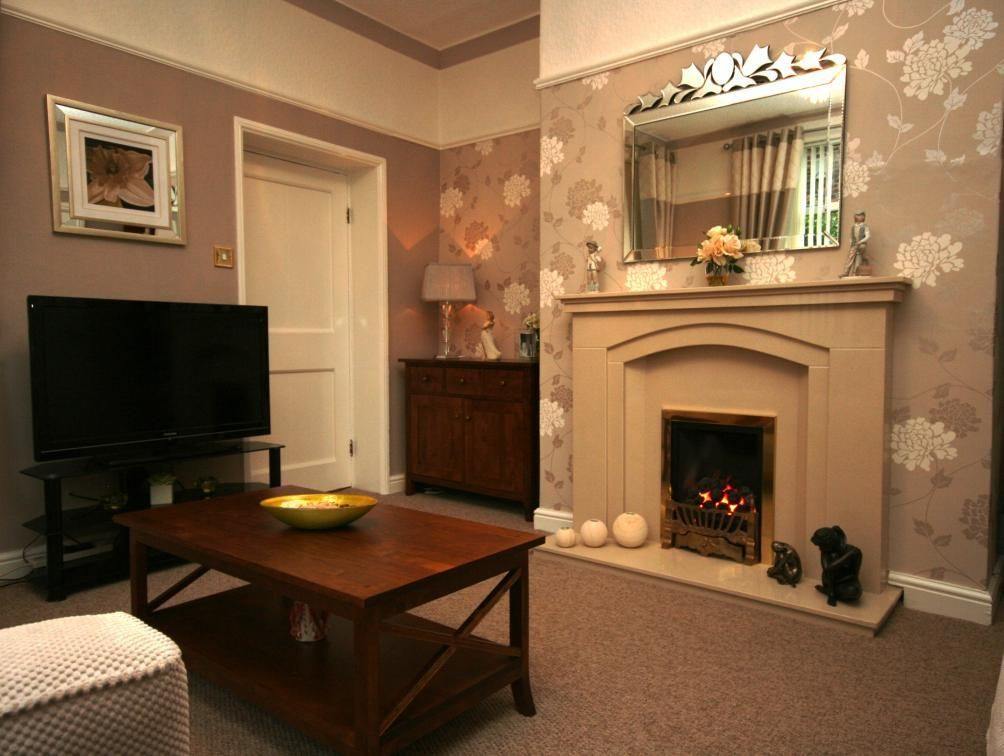 Fabulous Feature Wall Ideas Living Room With Fireplace Living Room ...