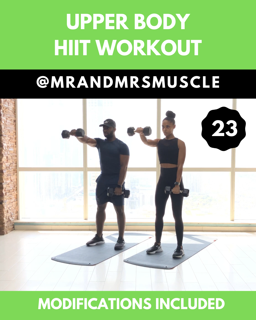 Upper Body Workout - HIIT with modifications