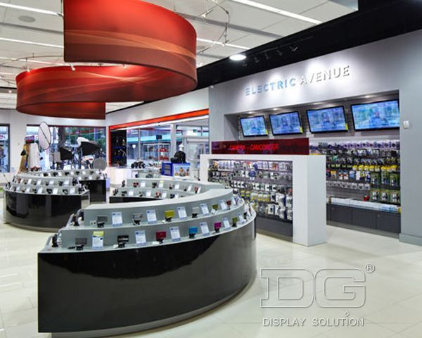 El06 luxury mobile phone shop designs exhibici n y for Mobel luxus designer