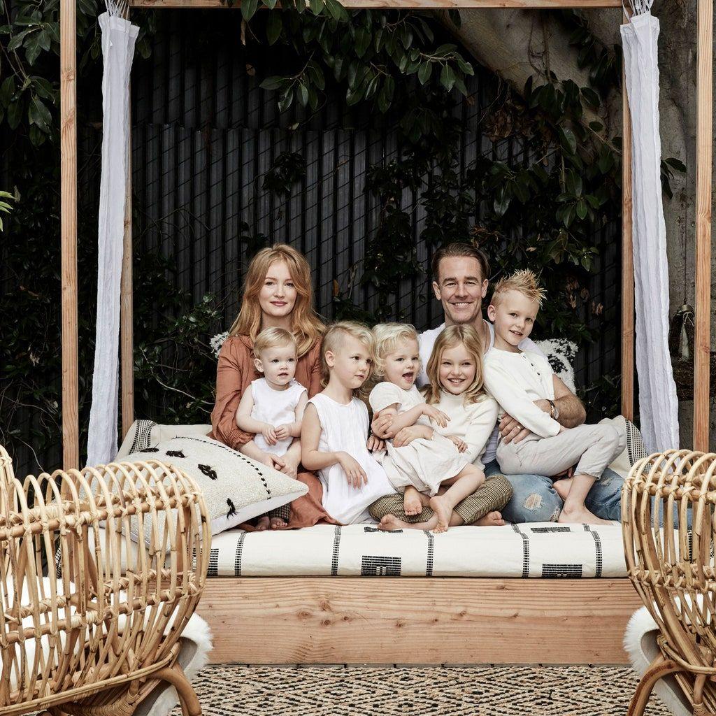 James Van Der Beek's Home Is the Ideal Family Haven in