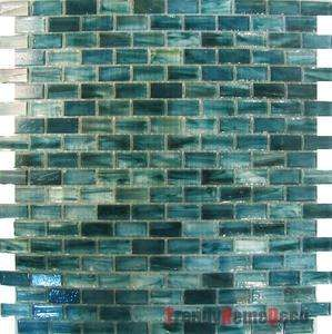 1sf Blue Recycle Gl Mosaic Tile Backsplash Kitchen Wall Sink Bath