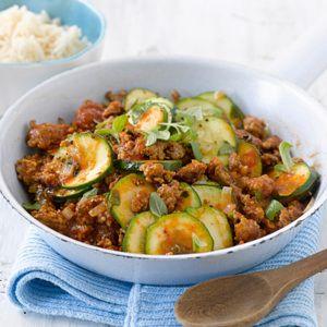 Photo of Quick zucchini mince pan