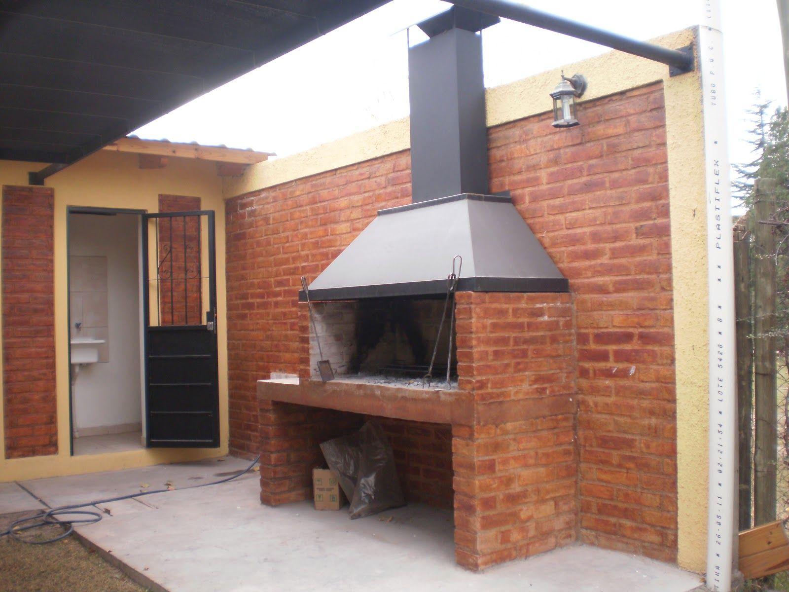 Cabanas Mirmar Agosto 2014 Diseno De Exterior De Cocina Horno