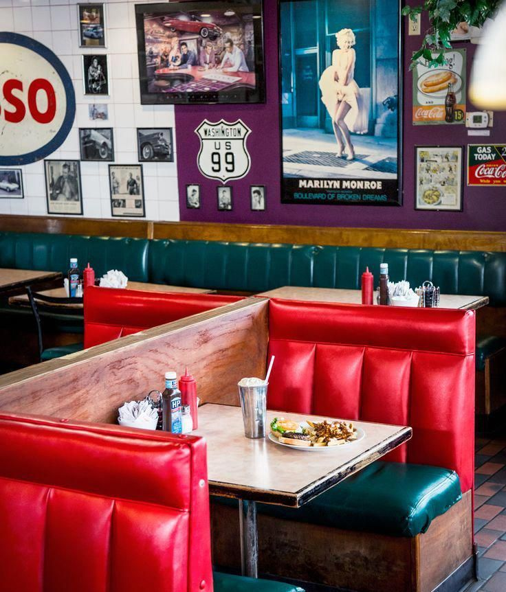 Pin by Robin Morse on 1950s Diner (With images) Diner