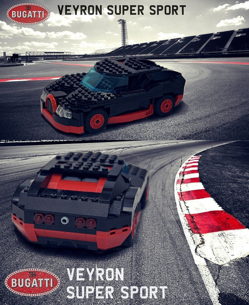 lego bugatti veyron super sport side lilys inspraiton. Black Bedroom Furniture Sets. Home Design Ideas