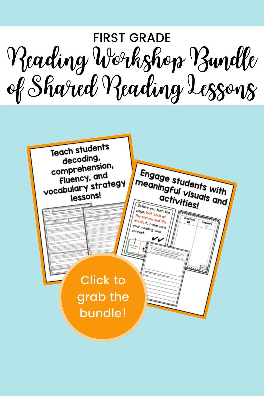 First Grade Flexible Shared Reading Lessons In 2021 Shared Reading Lesson Reading Lessons Reading Fluency Activities Fun reading lesson plans for grade