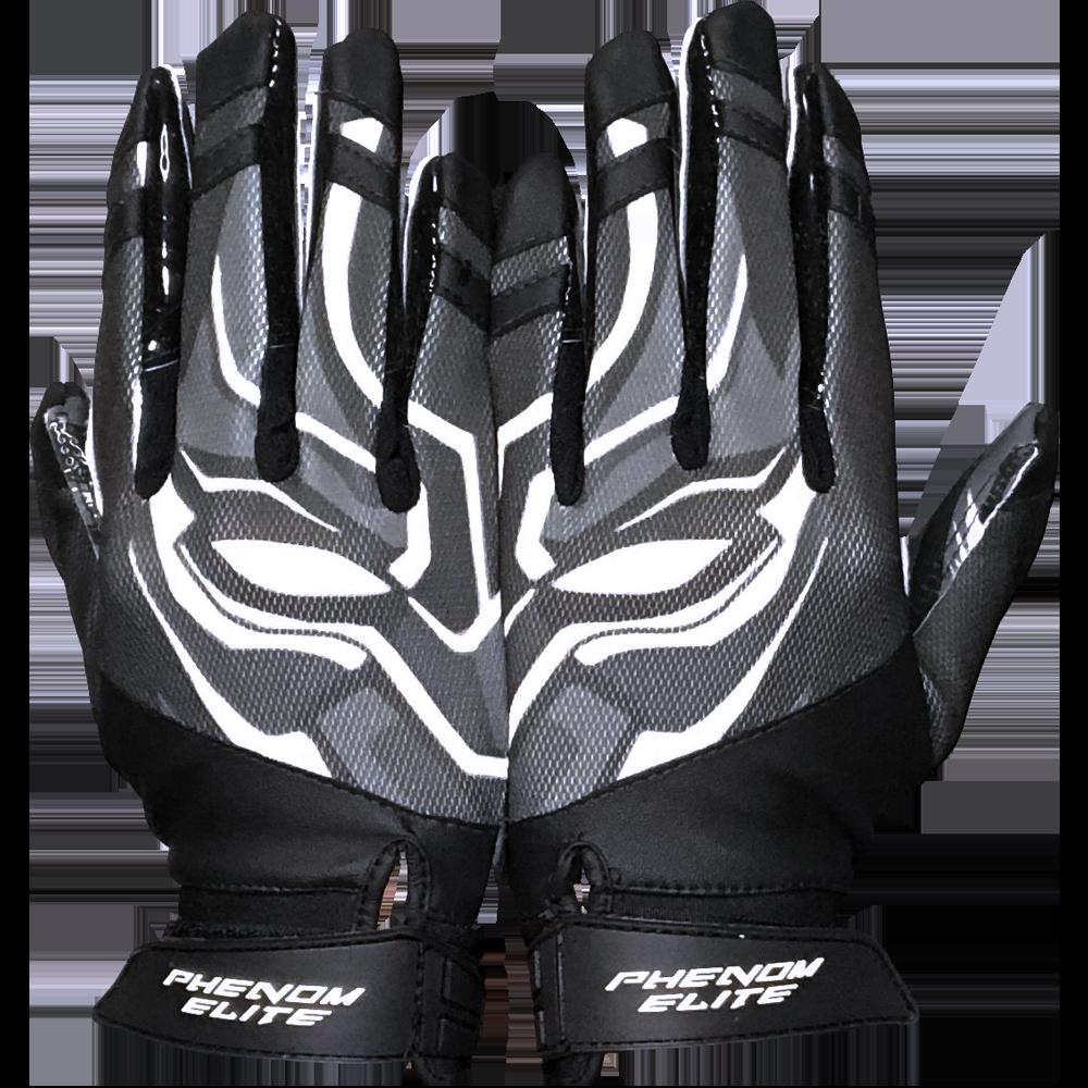 Phenom Elite Villain Football Gloves Vps3 Football Gloves Cool Football Gloves Football Swag